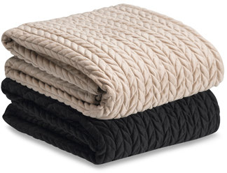 Cable Braid Throw Blanket