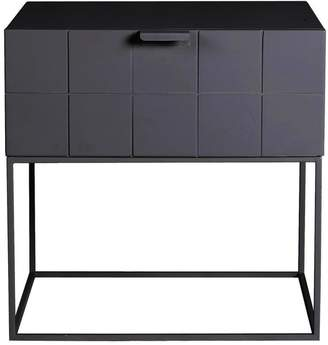 Mrd Home Trace Bedside Table Anthracite
