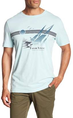 Tailor Vintage Sailboat Crew Neck Short Sleeve Graphic Tee