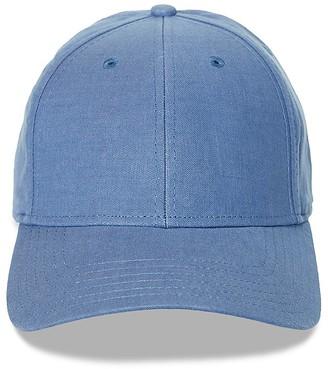 Gents Linen Cap $48 thestylecure.com