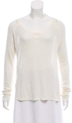 Rag & Bone Open Knit Long Sleeve Sweater