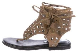 Isabel Marant Suede Studded Sandals
