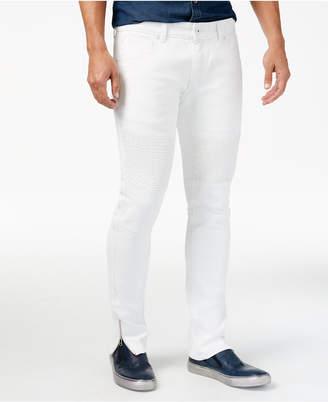 INC International Concepts I.n.c. Men Skinny-Fit Moto Jeans