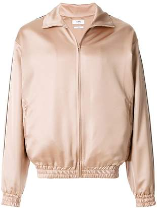 Cmmn Swdn zipped bomber jacket