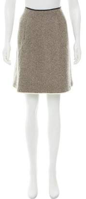 Zero Maria Cornejo Tweed Wool Skirt