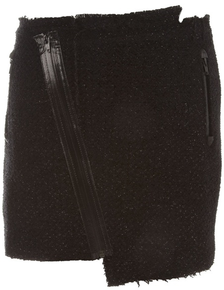 Dsquared2 Tweed assymetric skirt