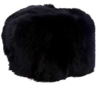Adrienne Landau Dyed Fur Hat
