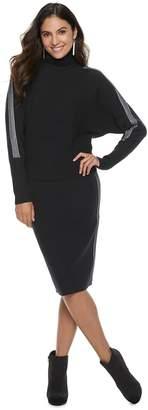 JLO by Jennifer Lopez Women's Dolman Turtleneck Sweater