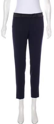 Vince Mid-Rise Wool Skinny Pants