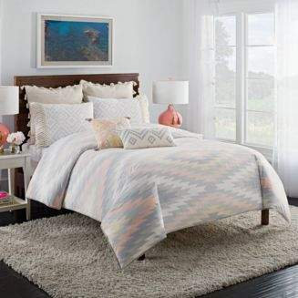 Cupcakes And Cashmere Kilim Duvet Cover, Full/Queen