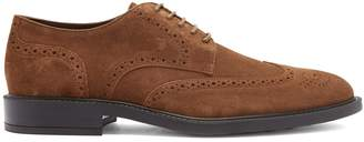 Tod's Bucature suede derby shoes