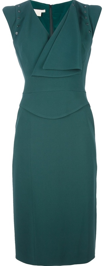 Antonio Berardi draped sleeveless dress