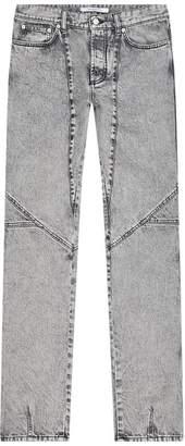 Givenchy Washed Slim Fit Biker Jeans