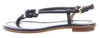 MICHAEL Michael Kors Leather Thong Sandals