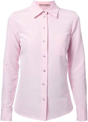 Michael Kors rhinestone button shirt