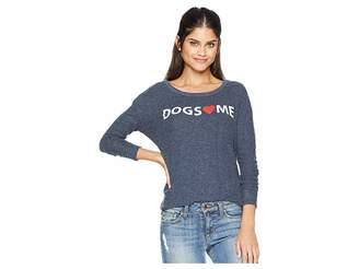 Chaser Love Knit Long Sleeve Basic Pullover