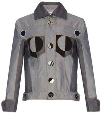 Thomas Tait - Patchwork Denim Jacket - Womens - Denim