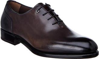 Salvatore Ferragamo Plain Toe Leather Oxford
