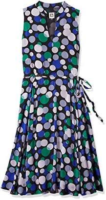 Anne Klein Women's Drawstring Waist Midi Dress