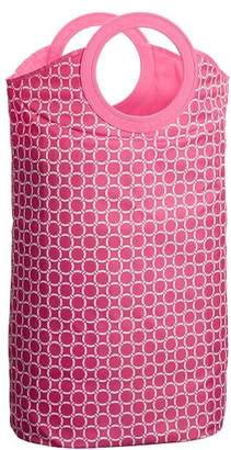 Pottery Barn Teen Easy Carry Laundry Bag, Watermelon Geo Rings