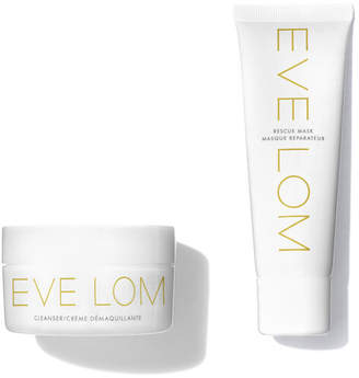 Eve Lom Cleanser and Rescue Mask Duo