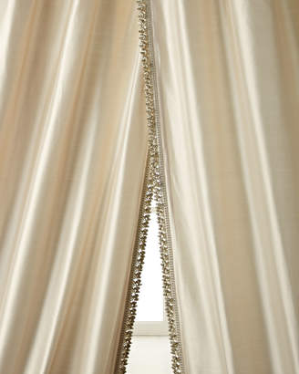 "Sweet Dreams Each 108""L Crystal Palace Imperial Silk Curtain"