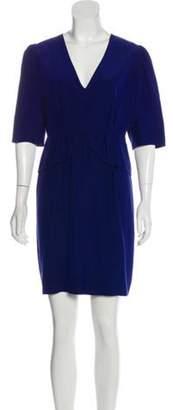 Stella McCartney Silk Peplum Dress Silk Peplum Dress