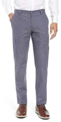 H Cotton & Linen Cargo Trousers