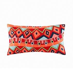Hollywood Boho Oblong Pillow, 12 x 22