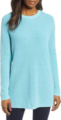 Caslon Tie Back Tunic Sweater