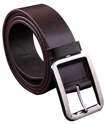 Dodomore Men's Belt Alloy Pin Buckle Waistband Genuine Leather Men Waist Wide Strap Casual