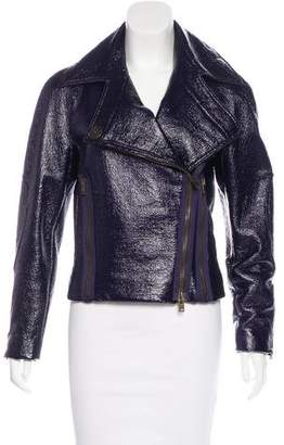 Stella McCartney Vegan Patent Leather Jacket