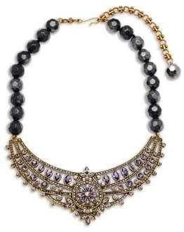 Heidi Daus Beaded Crystal Statement Necklace