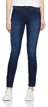 f1725d1b8 Wrangler Women's HIGH RISE SKINNY SUBTLE BLUE Jeans, Blue (SUBTLE BLUE), W27