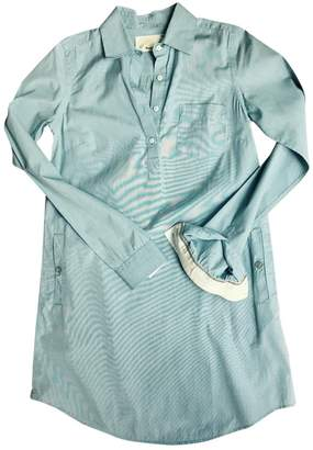 Anthropologie Blue Cotton Top for Women