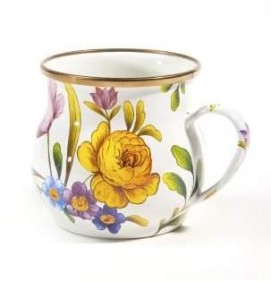 Mackenzie Childs MacKenzie-Childs Flower Market Enameled Mug