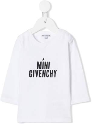 Givenchy Kids Mini print T-shirt