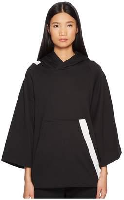 Yohji Yamamoto Bold Stripe Hoodie Women's Sweatshirt