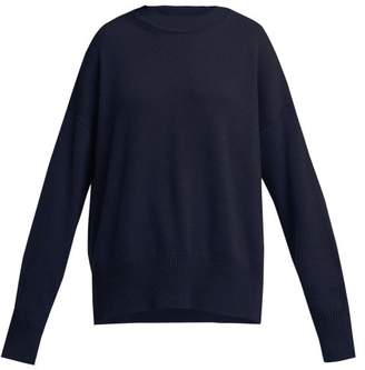 Jil Sander Cashmere Sweater - Womens - Navy