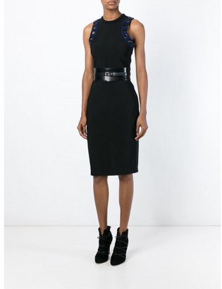 Mugler eyelet detail fitted dress $1,470 thestylecure.com