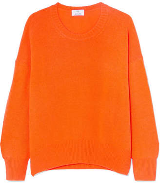 Allude Oversized Cashmere Sweater - Orange