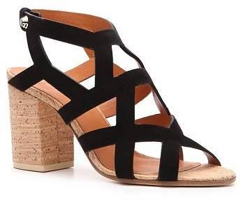 Givenchy Suede Cutout Sandal