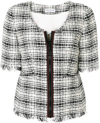 Sonia Rykiel short tweed jacket