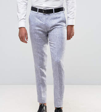 ONLY & SONS Skinny Suit Pants In Linen