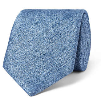 Richard James 8cm Mélange Silk And Wool-Blend Tie