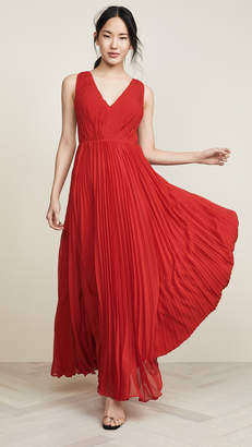 Fame & Partners Multi Strap Pleated Gown