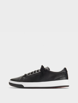 DKNY Samson Leather Lace-Up Sneaker