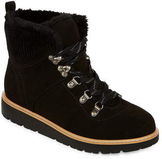 A.N.A Womens Bowery Booties Lace-up