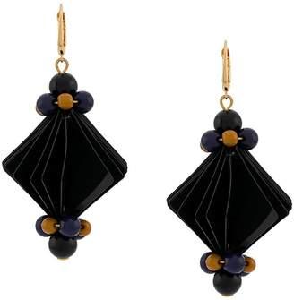 Marni Bead and facet earrings
