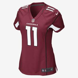 Nike NFL Arizona Cardinals (Larry Fitzgerald) Women's Football Home Game Jersey